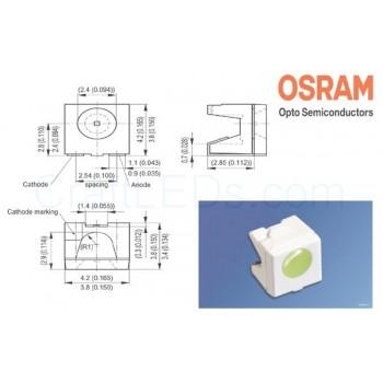 LED SideLED Hyper-Bright White (SMT)