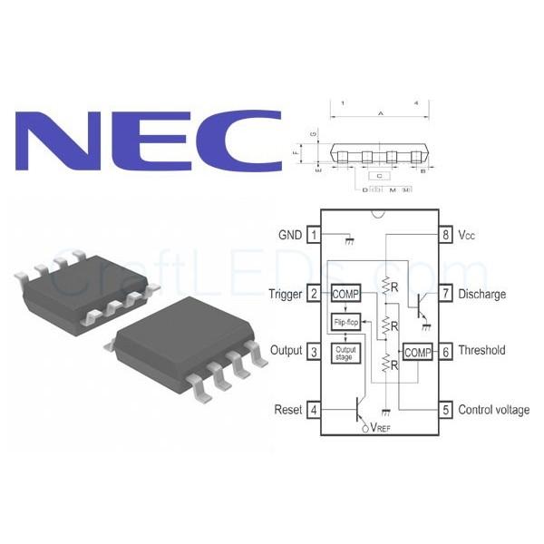 uPC1555G2 - NEC 555 Timer